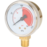 Brass Gauges NT618 | Johnston Equipment