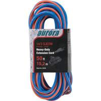 Triple Tap All-Weather TPE-Rubber Extension Cords with Light Indicator XH236 | Johnston Equipment