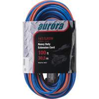 Triple Tap All-Weather TPE-Rubber Extension Cords with Light Indicator XH237 | Johnston Equipment
