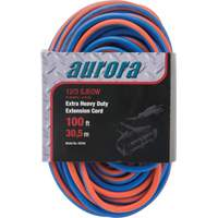Triple Tap All-Weather TPE-Rubber Extension Cords with Light Indicator XH240 | Johnston Equipment