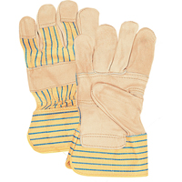 Grain Cowhide Fitters Patch Palm Gloves SAP230 | Johnston Equipment